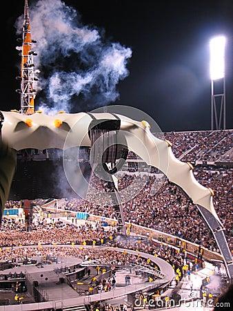 U2 Concert Editorial Image