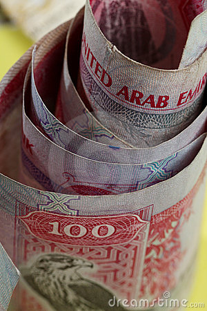 Uae currency 100 dirham notes