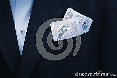 UAE Dirhams banknote