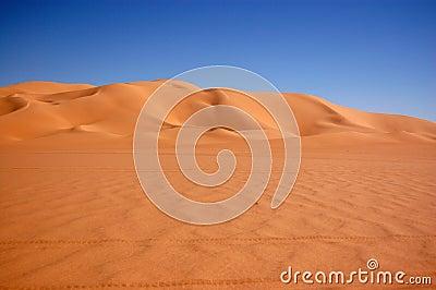 Ubari Sand Sea, Sahara Desert, Libya