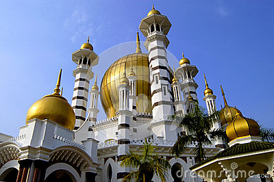 Ubudiah Mosque Editorial Stock Photo