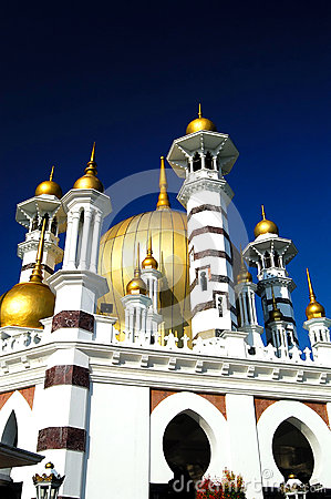 Ubudiah Mosque Editorial Photography