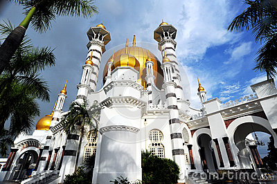 Ubudiah Mosque Editorial Photo