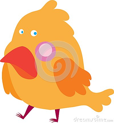 Uccellino giallo