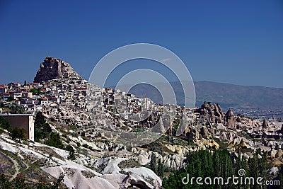 Uchisar Castle Cappadoccia