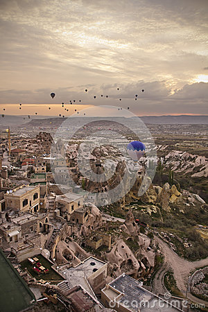 Free Uchisar Skyline Stock Photo - 41185920