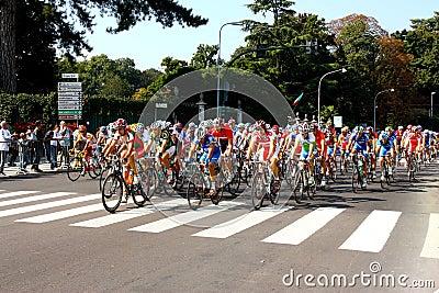 Uci Road World Championships 2008 Editorial Photo