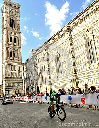 The 2013 UCI Road World Championships in Florence, Tuscany, Italy Editorial Photography