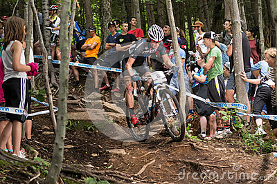 UCI World Cup Cross Country 2013, Mont Ste-Anne, B Editorial Stock Image