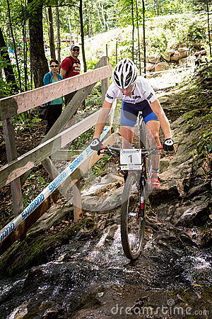 UCI World Cup Cross Country 2013, Mont Ste-Anne, B Editorial Stock Photo