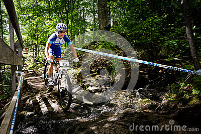 UCI World Cup Cross Country 2013, Mont Ste-Anne, B Editorial Photo