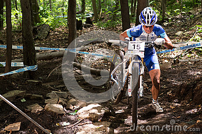 UCI World Cup Cross Country 2013, Mont Ste-Anne, B Editorial Image