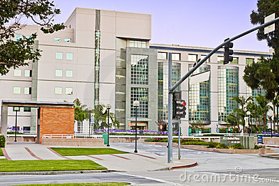 UCLA Medical Center Complex Editorial Stock Photo