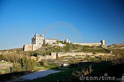 Ucles monastery and castle
