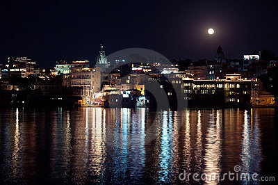 Udaipur in the Moon