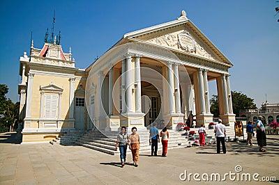 Uderzenia pa pałac królewski Zdjęcie Stock Editorial