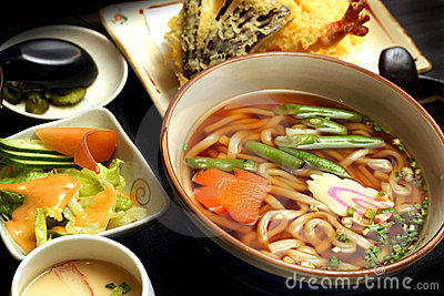 Udon Noodle Soup Stock Images - Image: 19196264