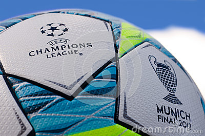 UEFA Champions League 2012 Ball - Final Editorial Photo