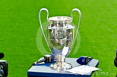 UEFA Champions League Cup 2012 Editorial Image