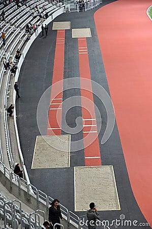 Uefa Elite stadium, Cluj Napoca, Romania Editorial Stock Photo