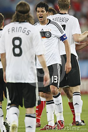 UEFA Euro 2008 - Austria v. Germany June 16, 2008 Editorial Photography