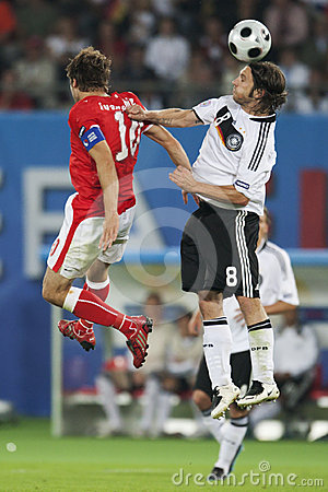 UEFA Euro 2008 - Austria v. Germany June 16, 2008 Editorial Image
