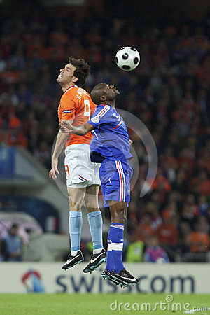 UEFA Euro 2008 - France v. Netherlands Editorial Photography