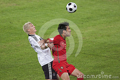 UEFA Euro 2008 - Portugal v. Germany Editorial Stock Image