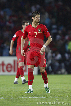 UEFA Euro 2008 - Portugal v. Turkey June 7, 2008 Editorial Stock Photo