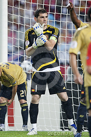 UEFA Euro 2008 - Spain v. Russia Editorial Stock Photo