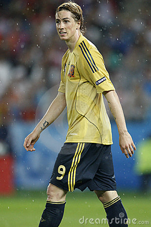 UEFA Euro 2008 - Spain V. Russia June 26, 2008 Stock Photography - Image: 8131492