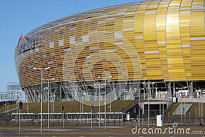 UEFA EURO 2012 STADIUM - PGE ARENA, GDANSK, POLAND Editorial Image