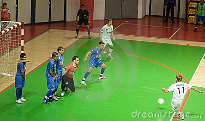 UEFA Futsal Cup 2008-2009 Editorial Image