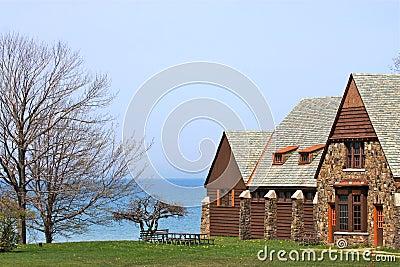 Ufergegend-Hütte