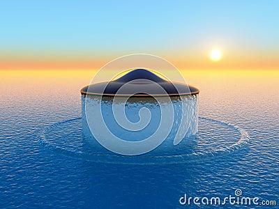 Ufo air blast