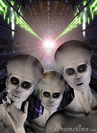 Free Ufo Alien Abduction Stock Photos - 5572723