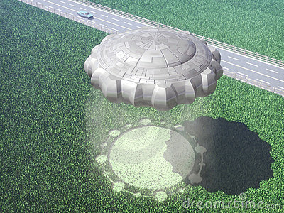 Ufo alien crop circle