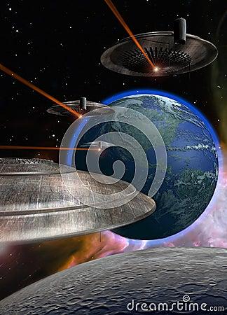 Ufo coming