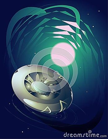 UFO del espacio