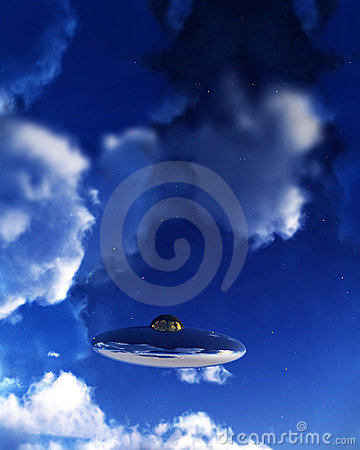 UFO In Sky 2
