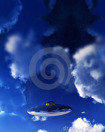 UFO In Sky 3