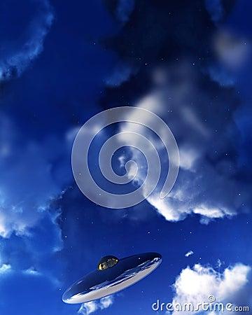 UFO In Sky 4