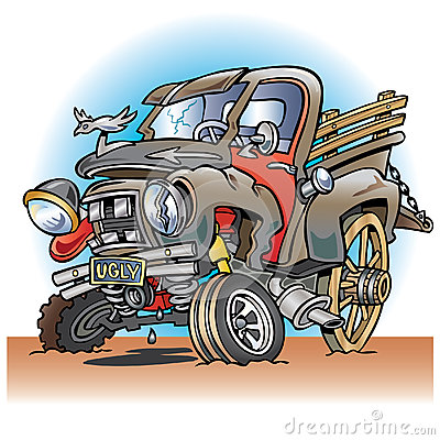Free Ugly Broken Down Old Farm Truck Royalty Free Stock Photo - 29249525