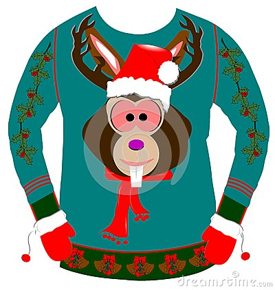Free Ugly Christmas Sweater Stock Photos - 51715423