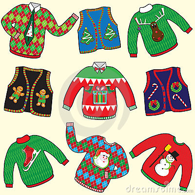 Free UGLY Christmas Sweaters Stock Photos - 22281783