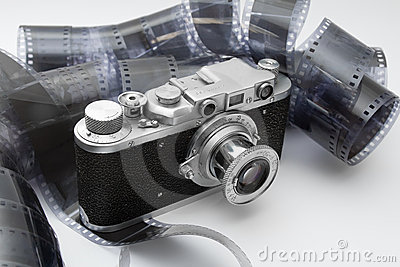 Uitstekende afstandsmetercamera in zwart-witte film