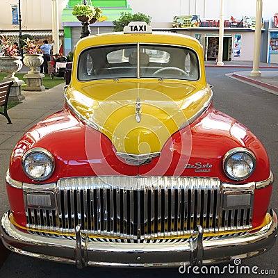 Uitstekende auto DeSoto Redactionele Afbeelding