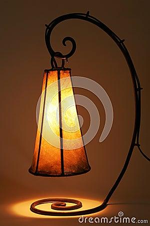 Uitstekende lamp