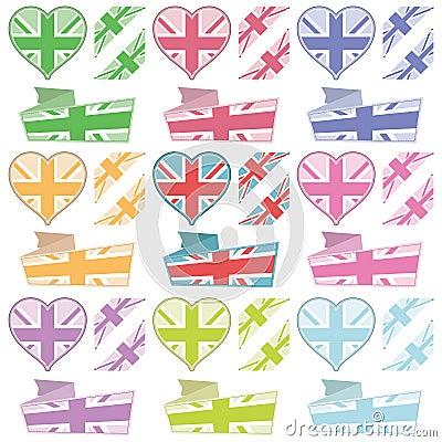 κορδέλλες UK καρδιών