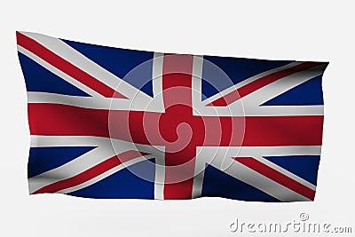 UK 3d flag